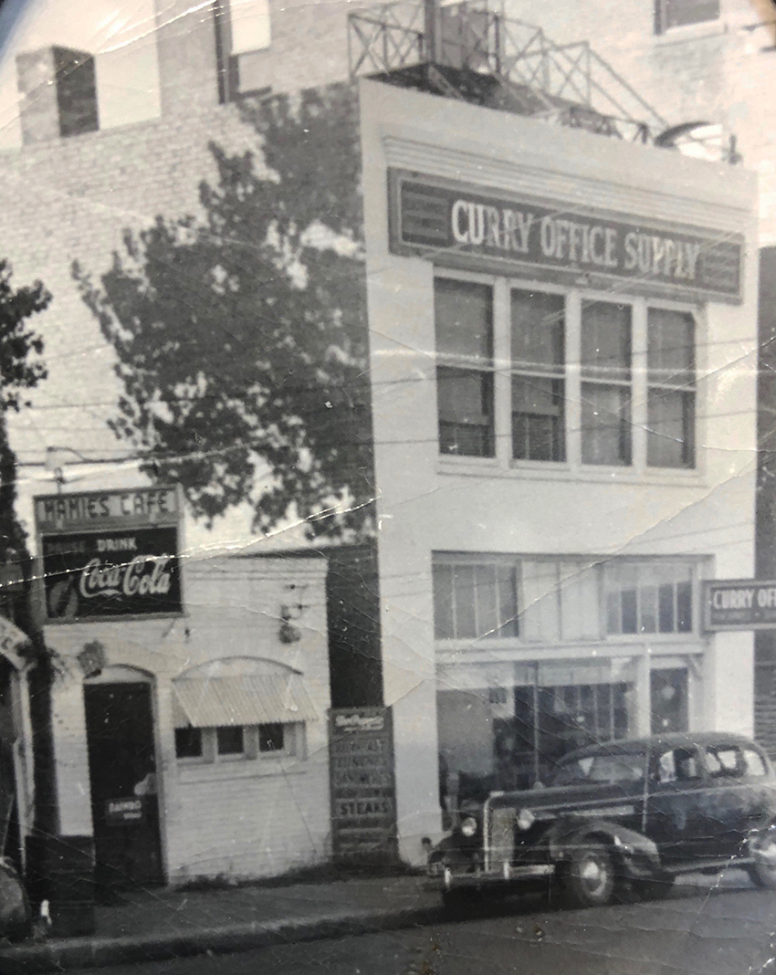 Vintage Photo of the Curry Building